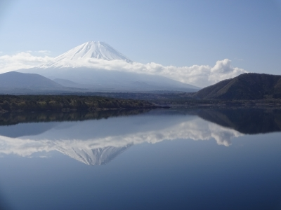 soku_30500.jpg :: 風景 自然 山 富士山 逆さ富士