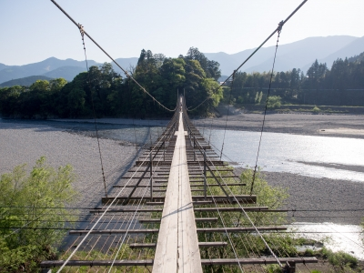 soku_30594.jpg :: 吊り橋 大井川
