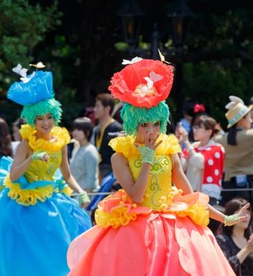 soku_30622.jpg :: 遊園地 テーマパーク ディズニーランド パレード イースター