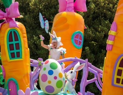soku_30623.jpg :: 遊園地 テーマパーク ディズニーランド パレード イースター