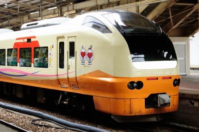 soku_30692.jpg :: 乗り物 交通 鉄道 特急いなほ