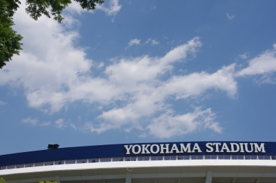 soku_30707.jpg :: 風景 街並み 野球場 横浜スタジアム