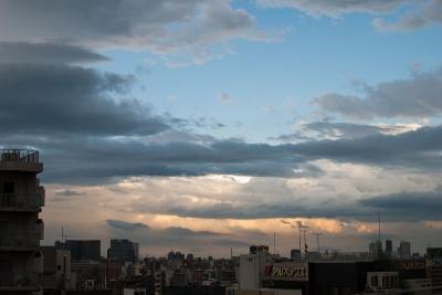 soku_31022.jpg :: 風景 街並み 都市の風景 空 雲