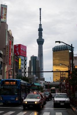 soku_31023.jpg :: 風景 街並み 都市の風景 繁華街 建築 建造物 塔 タワー 東京スカイツリー