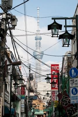soku_31202.jpg :: 風景 街並み 都市の風景 商店街 東京スカイツリー