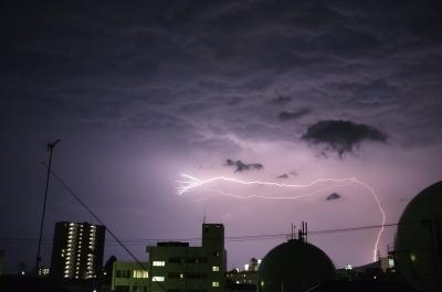 soku_31204.jpg :: 風景 自然 雷 稲妻