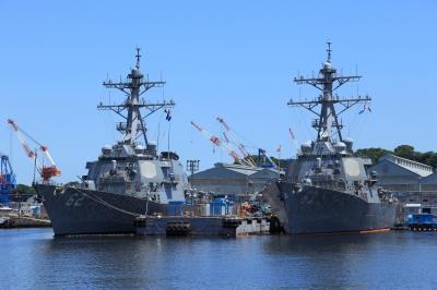 soku_31208.jpg :: イージス艦 乗り物 交通 船 艦 アメリカ海軍 横須賀基地