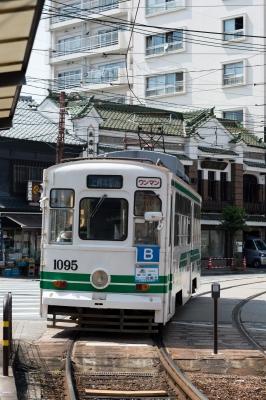 soku_31239.jpg :: 乗り物 交通 鉄道 電車 路面電車 熊本市電 ちんちん電車