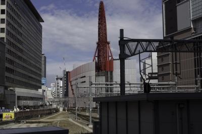 soku_31341.jpg :: 風景 街並み 都市の風景 観覧車 JR大阪駅