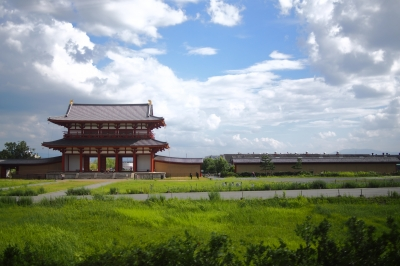 soku_31391.jpg :: 建築 建造物 橋 風景 朱雀門