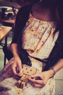 soku_31411.jpg :: アート 工芸品 クラフト 人形 フィギュア ダンボー 人物 女性 若い女性