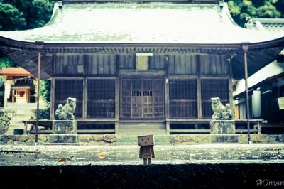 soku_31415.jpg :: アート 工芸品 クラフト 人形 フィギュア ダンボー 建築 建造物 神社 風景