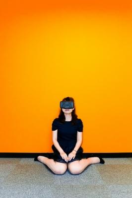 soku_31417.jpg :: 人物 女性 若い女性 OculusRift