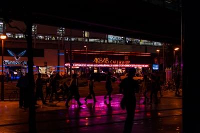 soku_31452.jpg :: 風景 街並み 都市の風景 夜景 秋葉原駅