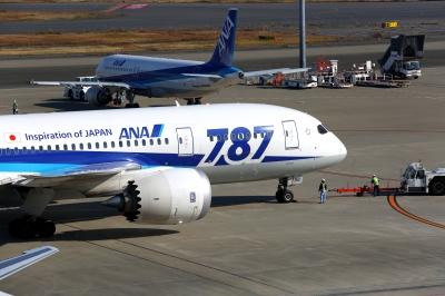 soku_31496.jpg :: 乗り物 交通 航空機 飛行機 旅客機 ANA787