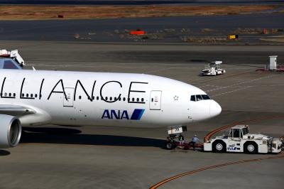 soku_31497.jpg :: 乗り物 交通 航空機 飛行機 旅客機 ANA