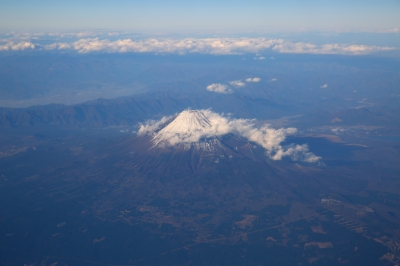 soku_31498.jpg :: 風景 自然 山 富士山 空撮