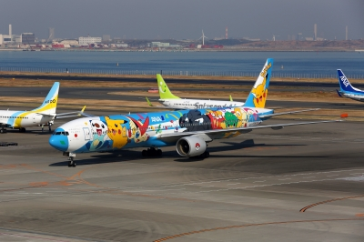 soku_31519.jpg :: 乗り物 交通 航空機 飛行機 旅客機 ポケモンジェット