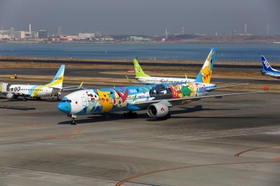soku_31520.jpg :: 乗り物 交通 航空機 飛行機 旅客機 ポケモンジェット