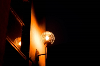 soku_31559.jpg :: 街灯 風景 街並み 都市の風景 夜景