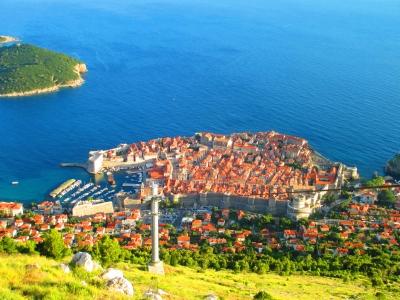 soku_31579.jpg :: 風景 街並み 都市の風景 島 外国 クロアチア?