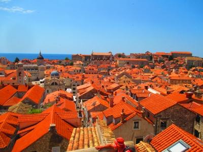 soku_31591.jpg :: 風景 街並み 都市の風景 島 外国 クロアチア?