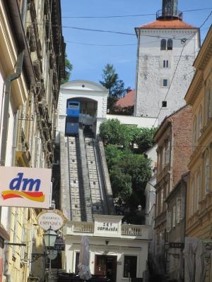soku_31603.jpg :: 風景 街並み 都市の風景 外国 クロアチア トラム ZET