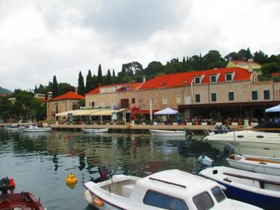 soku_31611.jpg :: 風景 街並み 都市の風景 外国 島 クロアチア?