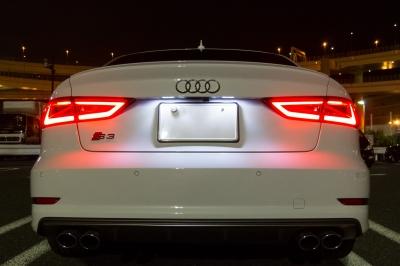 soku_31618.jpg :: 風景 郊外 車 ドライブ Audi S3 夜景 ナイトショット