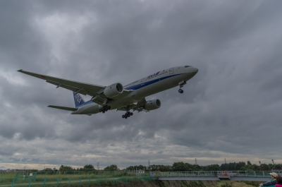 soku_31619.jpg :: 乗り物 交通 航空機 飛行機 旅客機 伊丹空港