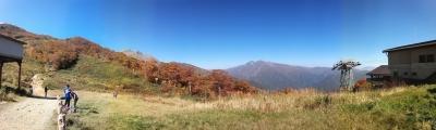 soku_31664.jpg :: 風景 自然 山 人物 パノラマ