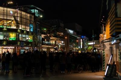 soku_31680.jpg :: 風景 街並み 都市の風景 繁華街 上野