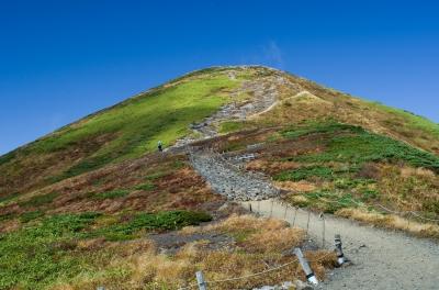 soku_31724.jpg :: 秋 山 紅葉 青空 自然 登山