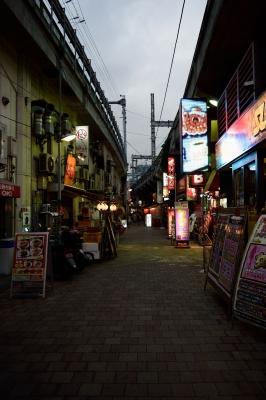 soku_31950.jpg :: 風景 街並み 都市の風景 繁華街 上野