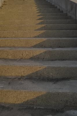 soku_31987.jpg :: 空間 階段 歩道橋 コンクリート