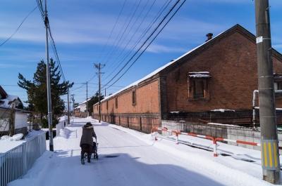 soku_32029.jpg :: 風景 街並み 郊外の風景 雪景色