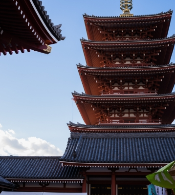 soku_32062.jpg :: 建築 建造物 神社仏閣 寺 五重塔