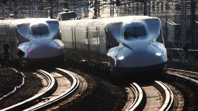 soku_32066.jpg :: 乗り物 交通 鉄道 新幹線