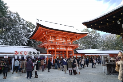 soku_32123.jpg :: 建築 建造物 神社 おみくじ