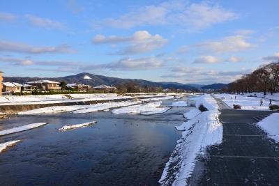 soku_32138.jpg :: 風景 自然 川 河川 雪