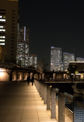 soku_32149.jpg :: 風景 街並み 港 夜景 みなとみらい