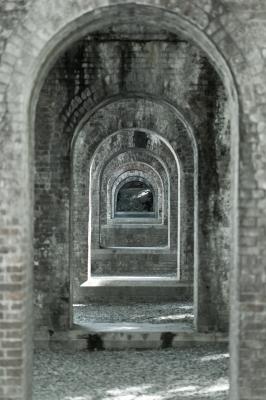 soku_32183.jpg :: 南禅寺 壁 レンガ アーチ