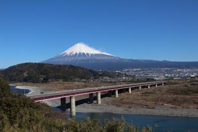 soku_32229.jpg :: 風景 自然 山 富士山 建築 建造物 橋