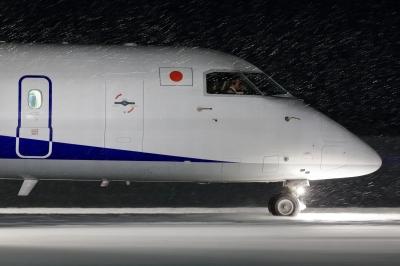 soku_32243.jpg :: 雪景色 飛行機 ヒコーキが足りない by KIJ