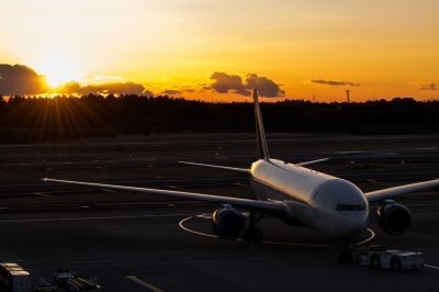 soku_32257.jpg :: 乗り物 交通 航空機 飛行機 旅客機 NRT 成田国際空港 第一ターミナル デルタ