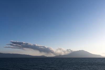soku_32298.jpg :: 風景 自然 山 火山 噴煙 桜島