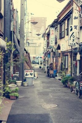 soku_32311.jpg :: 風景 街並み 都市の風景 下町 路地裏