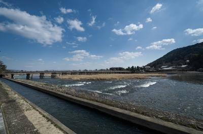 soku_32327.jpg :: 京都 渡月橋 建築 建造物 橋
