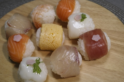 soku_32349.jpg :: 食べ物 和食 寿司 ひな祭り