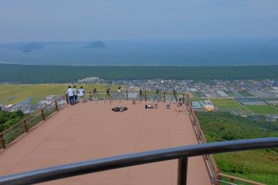 soku_32382.jpg :: 風景 街並み 郊外の風景 海 展望台